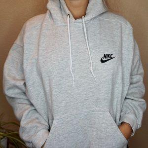 Vintage made in USA Nike sweatshirt hoodie M grey